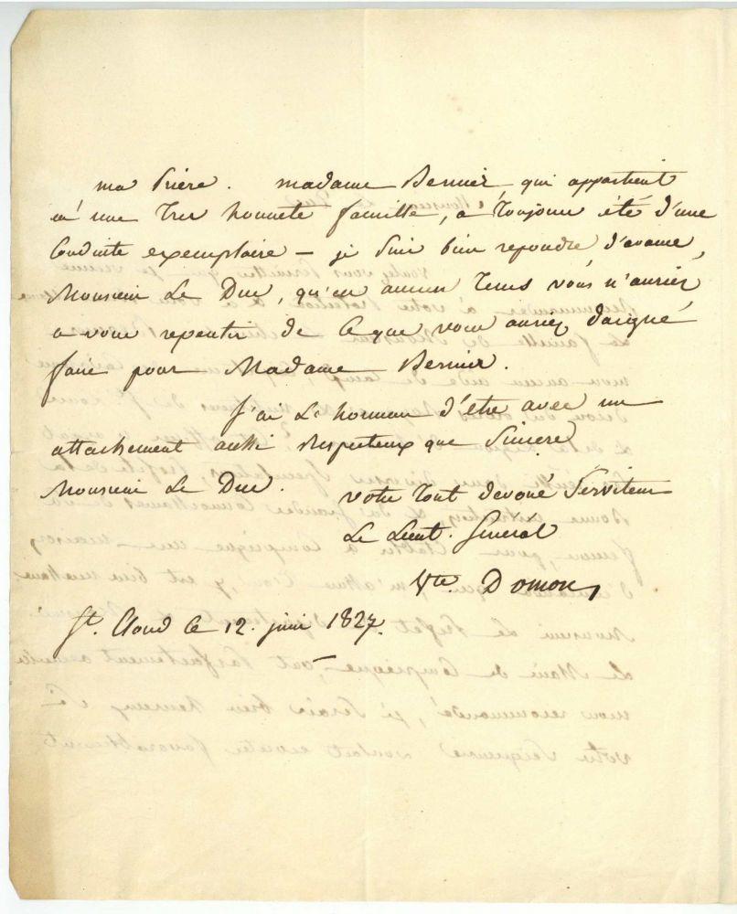 Milit r seite 4 scripta historica for Domon waterloo