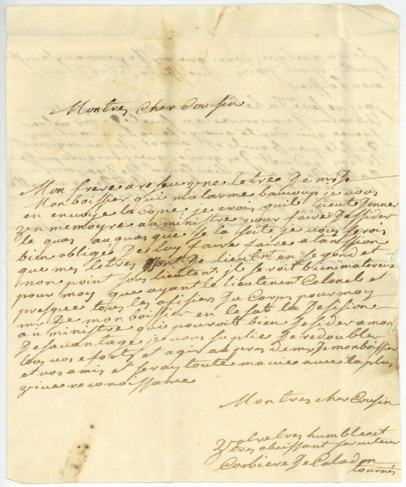 Frankreich scripta historica - Lettre de porte fort succession ...