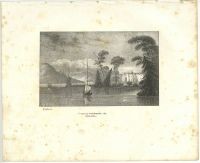 ENGLAND - STORES am Windermere See - Lithographie